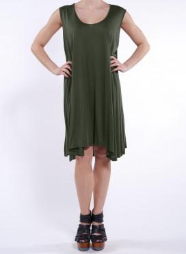 Φορεμα Mytes Sleeveless Midi 100% Visc