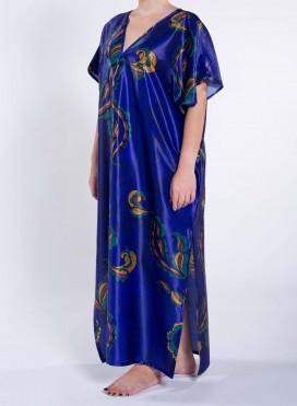 Dress V Slit Top Print