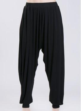 Pants Harem Calf Elastic