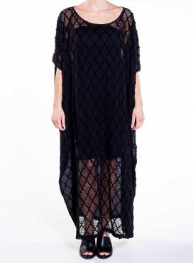 Φόρεμα Τετράγωνη Rhombus Front