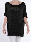 Blouse Square Short Knit 80%Acr - 20%Pol