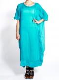 Φόρεμα Τετράγωνο Chiffon Silk