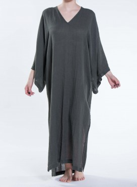 Kaftan V Slit Long sleeve Fidji