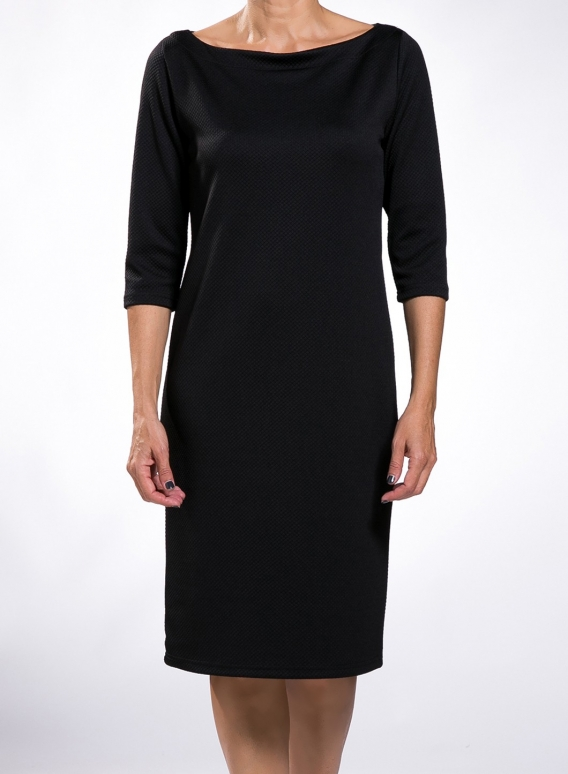 Dress Evelin Boatneck 3/4 sleeves