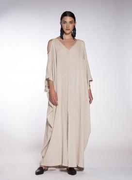 Φόρεμα Cold Shoulders Nature
