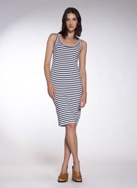Φόρεμα Fanelaki Sleeveless Midi Mariniere