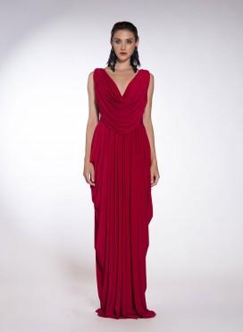 Dress Wed Maxi T924