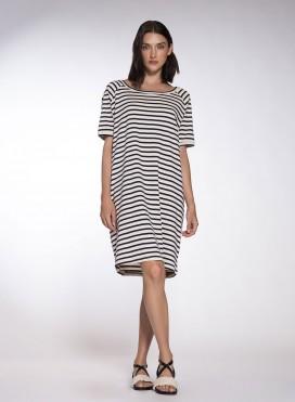Φόρεμα Reglan Midi Mariniere