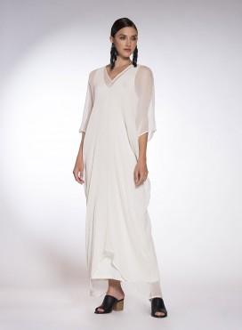 Dress V Maxi A2104