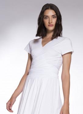 Μπλούζα Kruaze/Belt Short sleeve Mariniere