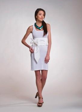 Φόρεμα Φανελάκι Mini Eλαστικό