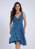 Φόρεμα Ρέλι 100% λινή γάζα