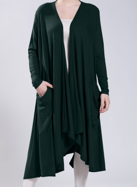 Jacket Nepal Pockets Long Sleeve 0.5 rib Elastic