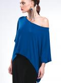 Μπλούζα Τετράγωνη Κοντή Wool/Viscose