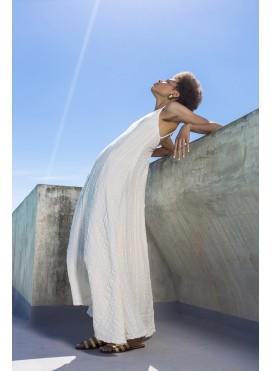 Φόρεμα Godet Backless PC961