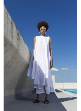 Φόρεμα Diplo Open Slit Sleeveless C-C 100% Cotton