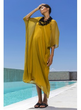 Kaftan Trigono Chiffon Silk