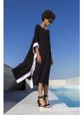 Dress Poncho Trim