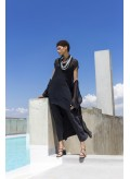 Jacket Tetragoni Chiffon 100% Silk