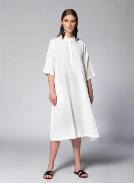 Φόρεμα Pat Pockets 3/4 Sleeves 100% Tencel