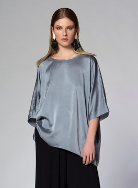 Μπλούζα Parfait Crew Neck Silk