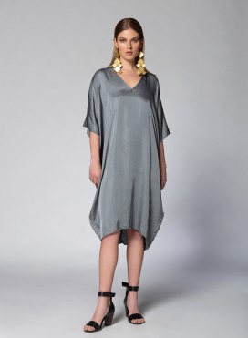 Dress V neck Square Lexis