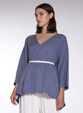 Blouse V Alpha 100% Tencel