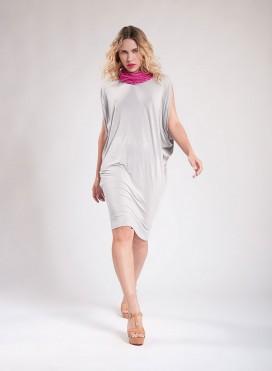 Φόρεμα Bat midi ελαστικό