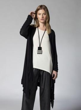 Soft Knitted Viscose Long Sleeve Cardigan
