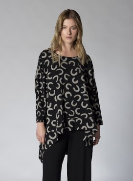 Blouse Two Level Magnet Strait
