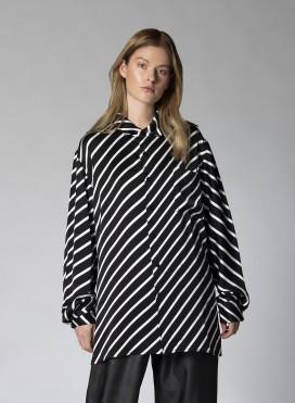 Πουκάμισο Eco Bias Stripes