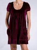 Φόρεμα Empire Τσέπη Velvet