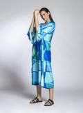 Kaftan Vintage Silk/Visc Print