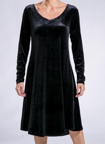 Dress Single velvet