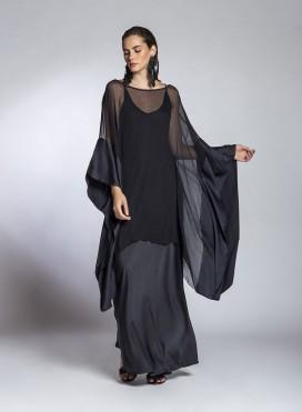 Μπλούζα Sides Satin/Chiffon Silk