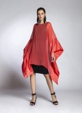 Blouse Sides Satin/Chiffon Silk