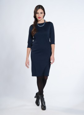 Dress Evelin Boatneck 3/4 sleeves