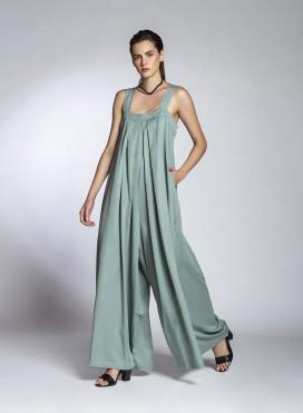Φόρεμα Overall Pleat 100% Tencel