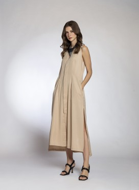 Dress Gilet Sleeveless 100% Tencel