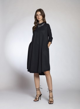 Dress Pray 3/4 Sleeves Midi 100% Tencel