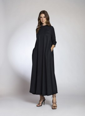 Dress Pray 3/4 Sleeves Maxi 100% Tencel