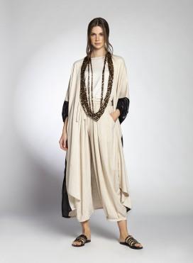 Jacket Abaya Slits Pure