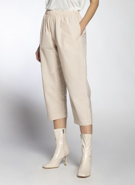 Pants Volume Cropped Trench