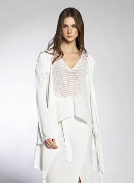 Jacket Dress Croise Viscose Knit