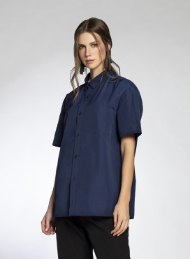 Shirt Basic Short Sleeves Trench