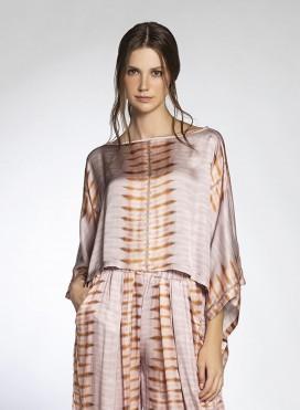 Μπλούζα Poncho Κοντή Tie-Dye Lexis