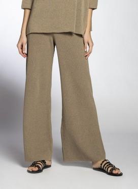 Παντελόνι Ίσια Γραμμή Cotton Πλεκτό
