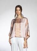 Blouse Poncho Regular Tie-Dye