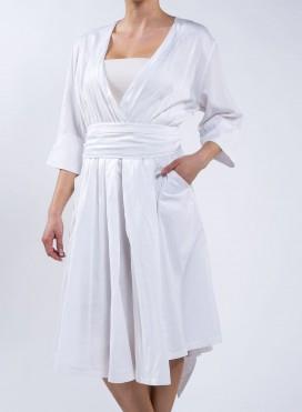 "Dress ""50's"" Silk/Cotton"