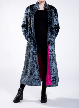 Coat eco fur